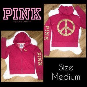 VS PINK zip up jacket